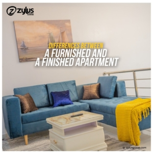 furnished and finished apartment